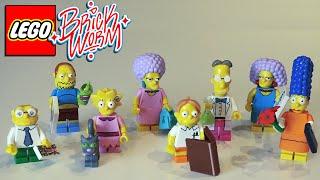 LEGO Simpsons. Минифигурки 2 серии (часть 2) - Brickworm(, 2015-05-29T14:04:49.000Z)