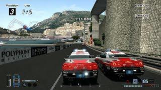 Gran Turismo 4 - Nissan SKYLINE GT-R (PaceCar Battle) PS2 Gameplay HD