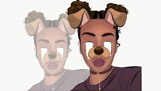 Adobe Draw | Animated Cartoon - step by step