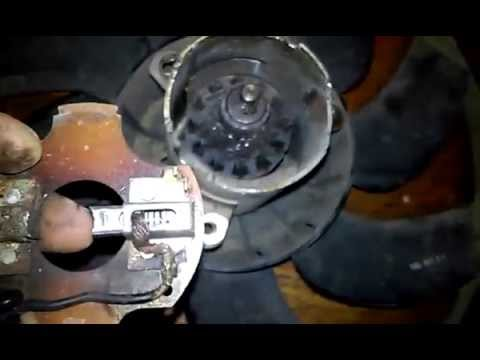 Ремонт вентилятора охлаждения Repair Of The Cooling Fan