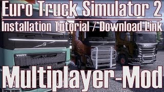 Euro Truck Simulator 2 🚚 Multiplayer-Mod 📣 Installation Tutorial + Download Link [Deutsch/HD]