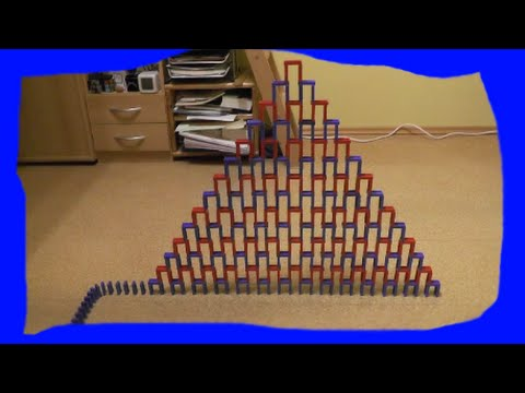 My biggest Speed Domino Pyramid