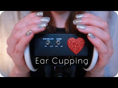 ASMR Ear Cupping // Latex Gloves, Plain, Lotion, & Sugar Scrub (No Talking) for 😴 Sleep & Study 📖