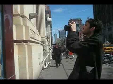 WNYC Street Shots: David Horvitz