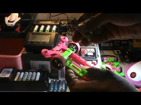 Tamiya Mini 4wd Speed Checker Test ( PLASMA DASH )