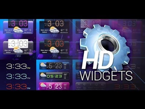Софт для Android #14 HD Widgets