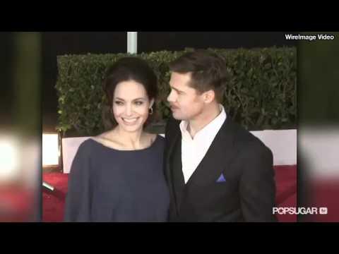 Angelina Jolie and Brad Pitt's Flirtiest Moments!