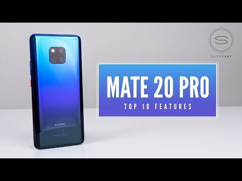 Huawei Mate 20 Pro - Top 10 Features