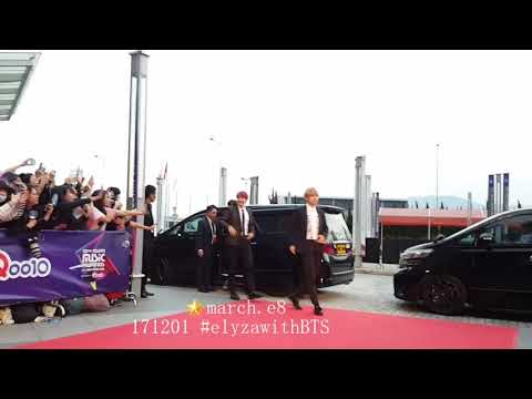 171201 MAMA2017 Red Carpet Runway - BTS