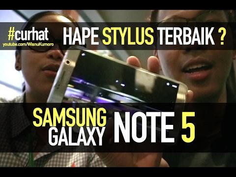 Samsung Galaxy Note 5: Rajanya Stylus? #CurhatGadget