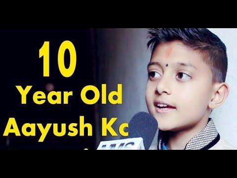 """""""मर्ने कसैलाई रहर हुँदैन, तर नमरेको प्रहर हुँदैन"""" """"Surshala Junior Idol"""" Winner -Aayush Kc."""