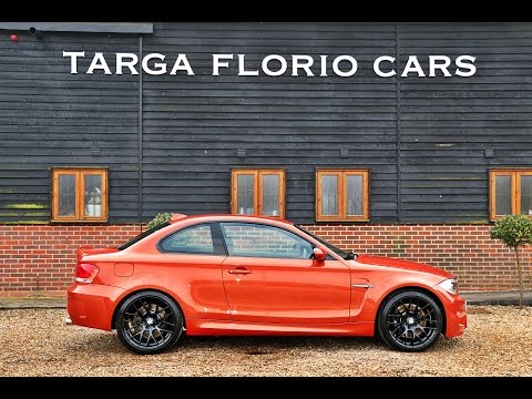 BMW 1 Series M Coupe 3.0 Twin Turbo In Valencia Orange For Sale At Targa Florio Cars In Sussex