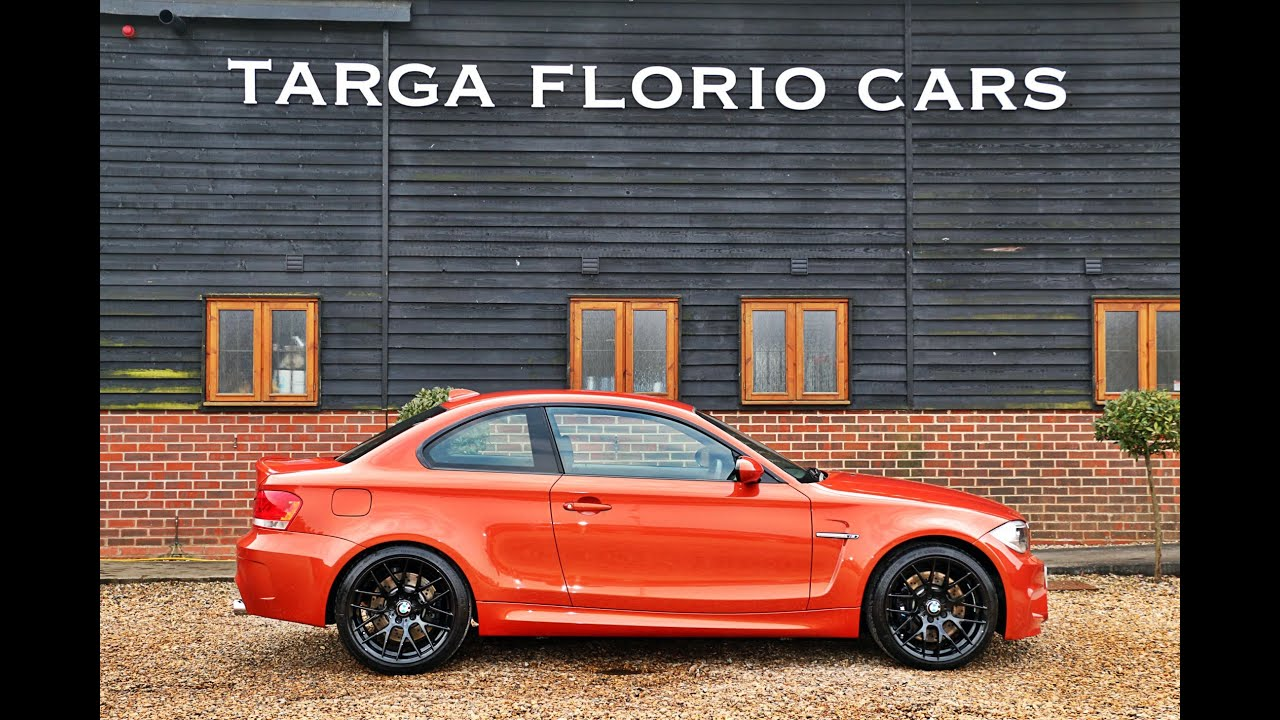 bmw 1 series m coupe 3 0 twin turbo in valencia orange for sale at targa florio cars in sussex. Black Bedroom Furniture Sets. Home Design Ideas