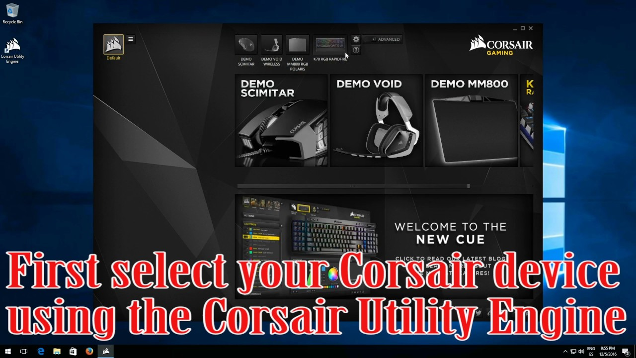 How to Install Custom RGB Profiles Using the Corsair Utility Engine (CUE)