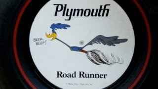 A short drive with the Road Runner and new promo wheel discs