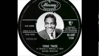 Brook Benton - Think Twice  (1961)