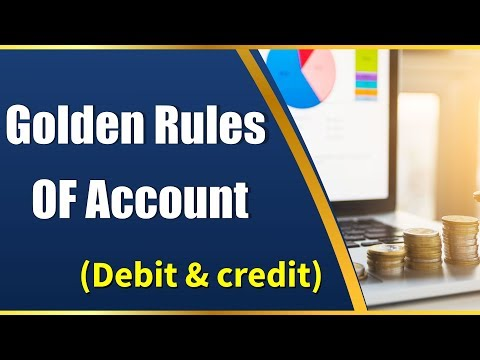 DEBIT & CREDIT | Golden Rules of Accounts | Accounting | LetsTute Accountancy