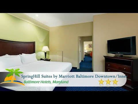 SpringHill Suites By Marriott Baltimore Downtown/Inner Harbor - Baltimore Hotels, Maryland