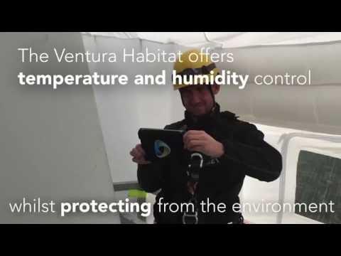 GEV Wind Power Blade Repair Habitat