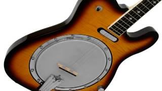new gold tone ebt tele style 5 string electric banjo w free hard cas