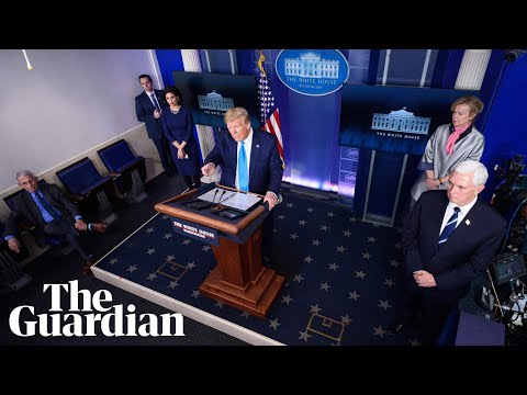 Coronavirus: Members of the US task force brief reporters - watch live