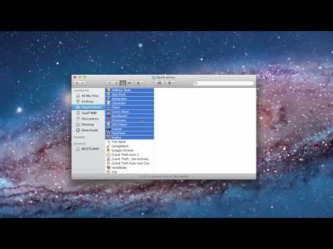 How To Select Multiple Files On A Mac