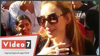 بالفيديو.. ريهام سعيد تحتفل مع أنصارها بالبراءة من تهمة التعدى على مساعد مخرج