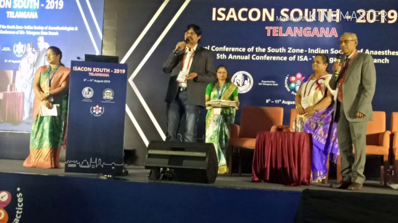 Glimpses of ISACON South zone 2019