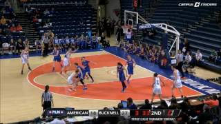 Bucknell WBB - PL Tournament Semifinal Highlights