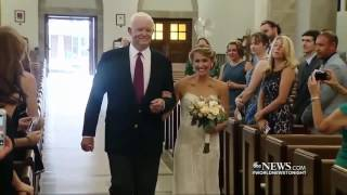 Bride Walks Down the Aisle With Man Who Was Saved by Her Father's Heart Donation