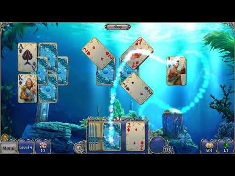 Jewel Match Atlantis Solitaire Collector's Edition Gameplay (PC Game)