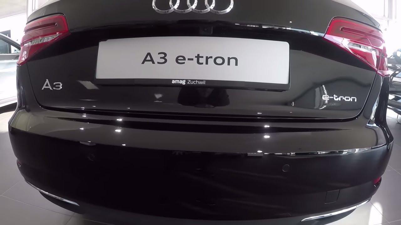 New Audi A3 Sportback E Tron 2018 Interior Exterior Short Review