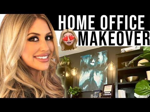 Home Office Makeover | Office Transformation