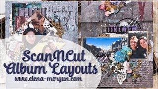 ScanNCut Album Layouts Tutorial by Elena Morgun