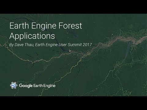 Earth Engine Forest Applications