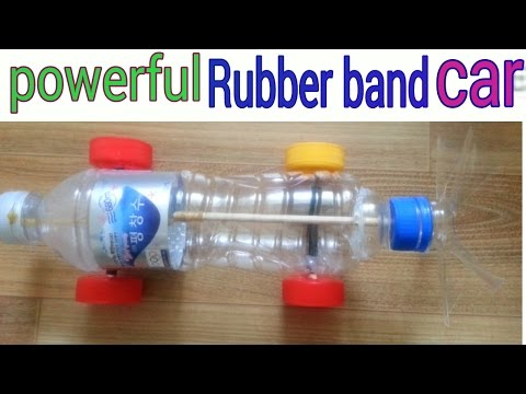 How To Make Rubber Band Powered Boat Diy Funnycat Tv