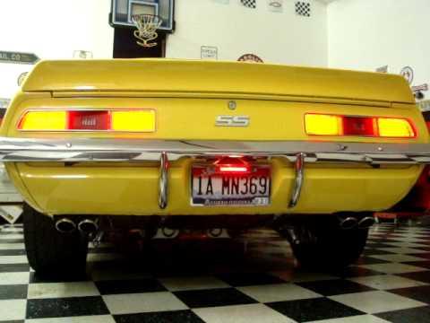 Camaro Ss 1969 Supercharged >> 1969 Camaro LED Tail Lights - YouTube