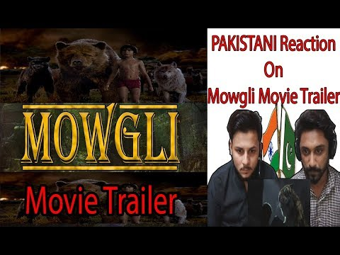 Pakistani Reaction On MOWGLI  1st Trailer  AA Reactions