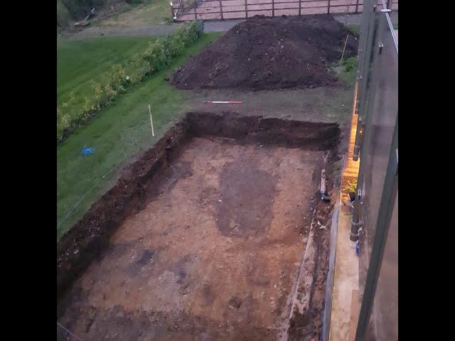 Cheshire Pond Part 1 - 11,000Gallon pond build!!