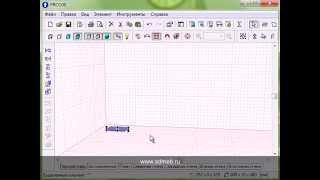 Проектировка в PRO-100 с помощью положение элементов в пространстве
