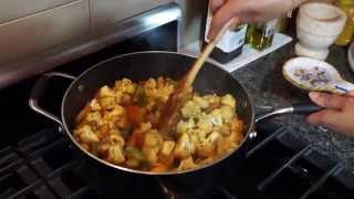 Easy Cauliflower And Potatoes Aloo Gobi Recipe: Easy Indian Vegetarian Recipes