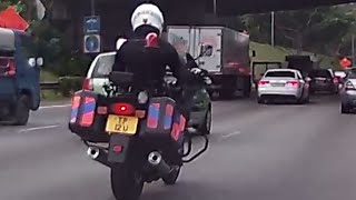 Singapore Stealth Traffic police bike