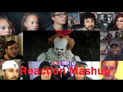 IT TV Spot #1 Terror REACTION MASHUP