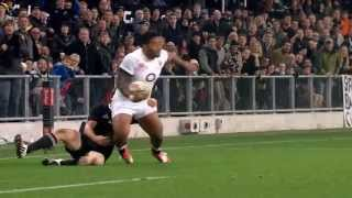 Highlights of New Zealand 28 England 27