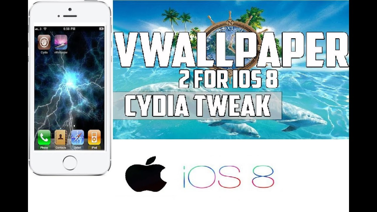vWallPaper | efecto video en tu LockScreen y SpringBoard mejor que las imagenes GIF iPhone iPod ...