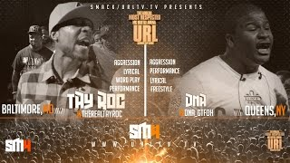 TAY ROC VS DNA SMACK/ URL | URLTV