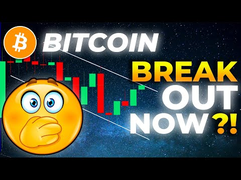 HUGE BREAKout IMMINENT FOR BITCOIN!!!!! BITCOIN Price Prediction // Daily BTC Crypto Trading