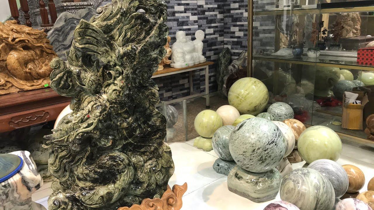 Phiên đấu giá tối 29/7/2020, giao lưu tác phẩm đá ngọc vảy rồng Long Phụng 68kg giá 45 triệu