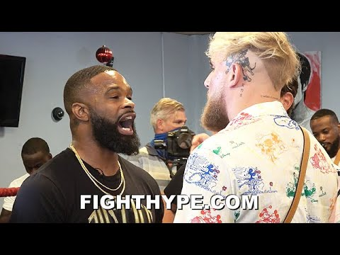 Tempers fly at Jake Paul-Tyron Woodley news conference after ...