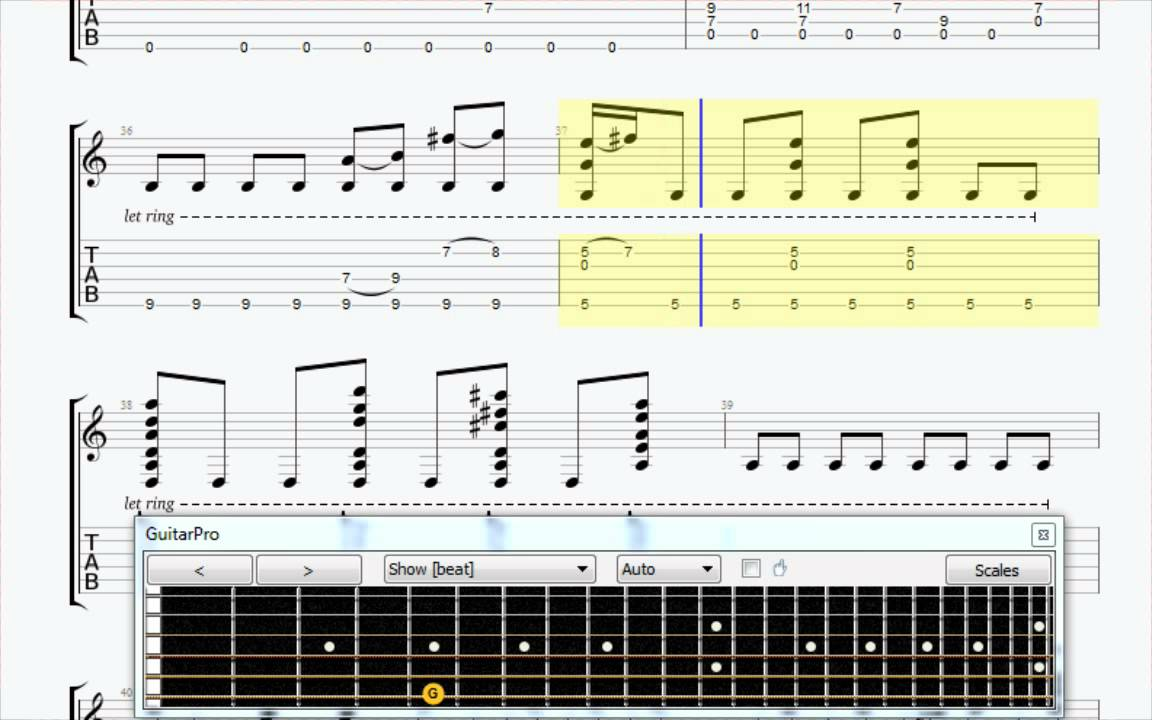 With Or Without You Fingerstyle Guitar Tabs Youtube
